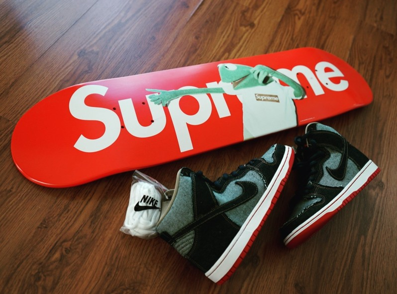 Kermit Supreme Deck x Denim Forbes