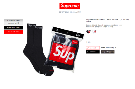 supreme socks2