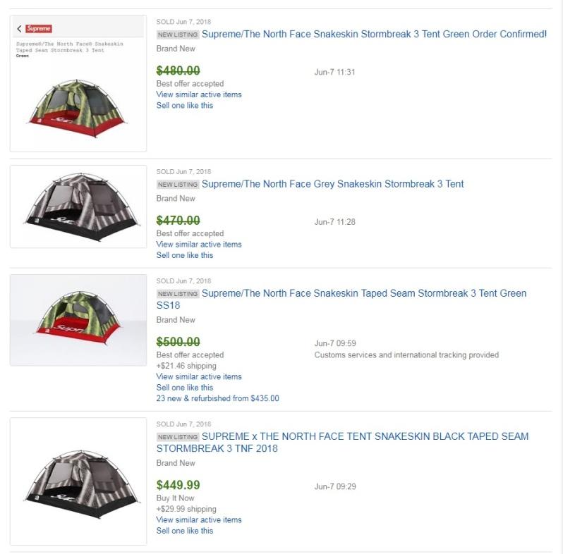 supreme tent