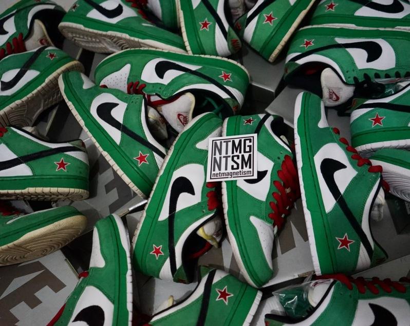 Nike Heineken Dunk SB - Netmagnetism
