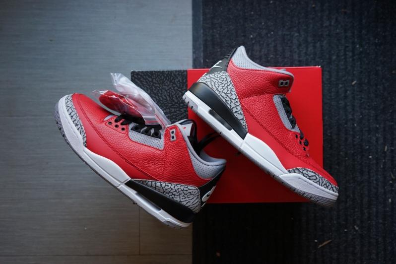 Jordan 3 fire red Netmagnetism 1