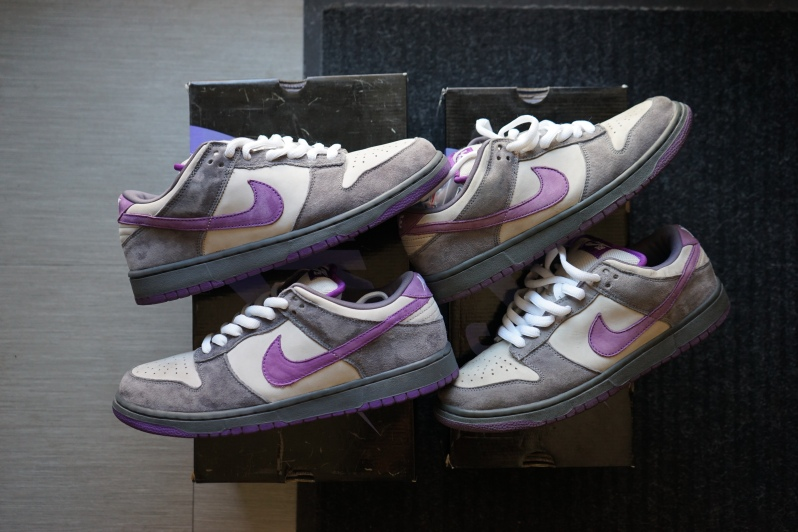 Netmagnetism Purple pigeon Nike dunk sb
